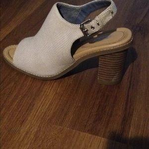 Dr. Scholls mule open toed shoes